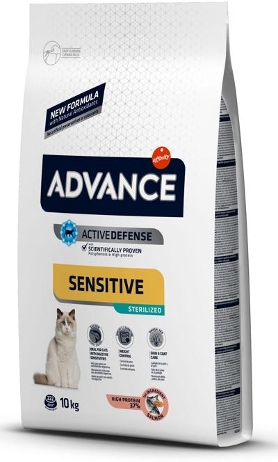ADVANCE GATO STERILISED SALMAO