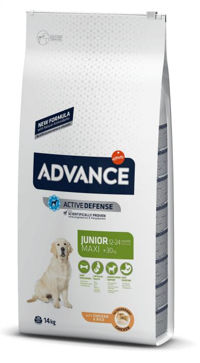 ADVANCE MAXI JUNIOR FRANGO 14 KG