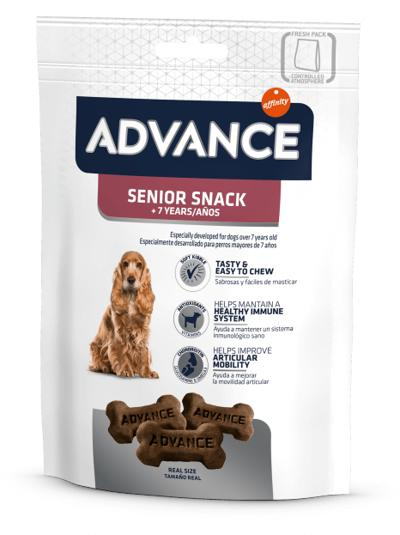 ADVANCE SENIOR +7 SNACK 150 GR
