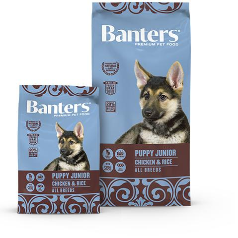 BANTERS PUPPY CHICKEN 15 KG