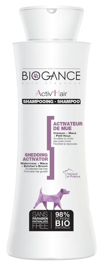 BIOGANCE ACTIV HAIR SHAMPOO  250 ML