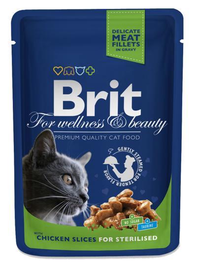 BRIT CAT STERILISED 100 GR