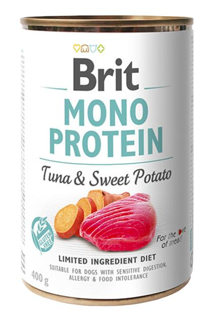 BRIT MONO PROTEIN TUNA & SWEET POTATO 400 GR