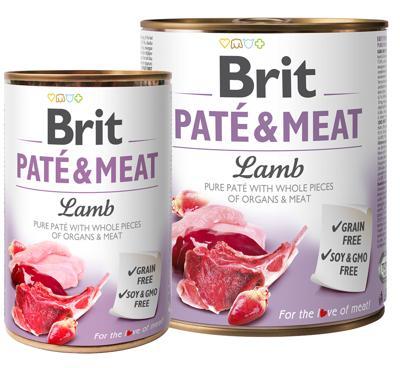 BRIT PATÉ & LAMB 400 GR