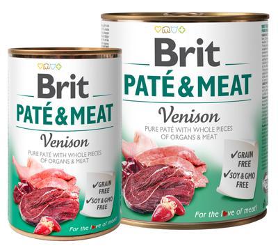 BRIT PATÉ & VENISSON 400 GR