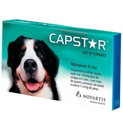CAPSTAR CÃES DE 11 A 57 KG