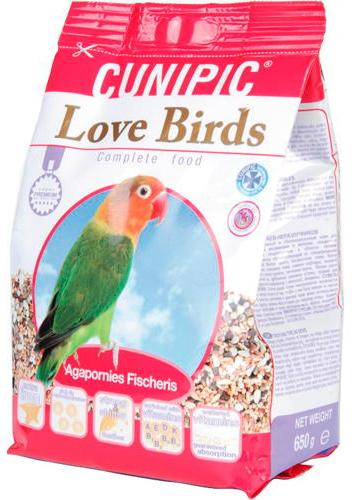 CUNIPIC LOVEBIRDS 3 KG