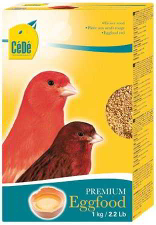 CÉDÉ EGGFOOD RED