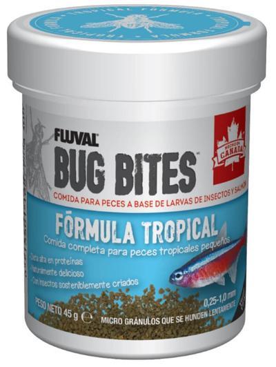 FLUVAL BUG BITES MICRO GRAN 45 GR