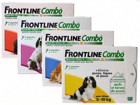 FRONTLINE COMBO CÃO