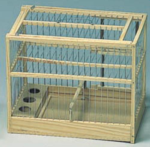 cage attrape en bois cages attrape cages h bergement. Black Bedroom Furniture Sets. Home Design Ideas