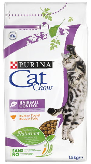 CAT CHOW HAIRBALL CONTROL 1.5 KG