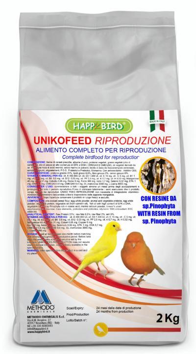 HAPPY BIRD UNIKOFEED RIPRODUZIONE 2 KG