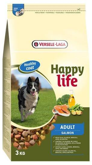 HAPPY LIFE ADULT SALMON 15 KG