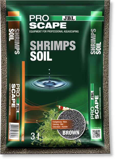 JBL PROSCAPE SHRIMPS SOIL BROWN 3LT