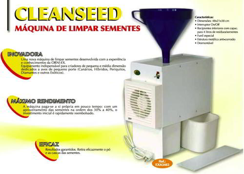MACHINE P/ NETTOYAGE DE GRAINES CLEANSEED