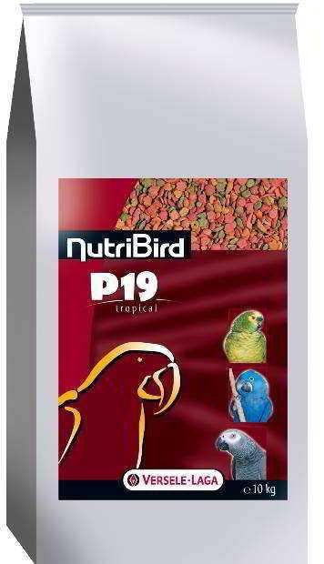 NUTRIBIRD P19 TROPICAL 10 KG*TRANSPORTE GRATUITO