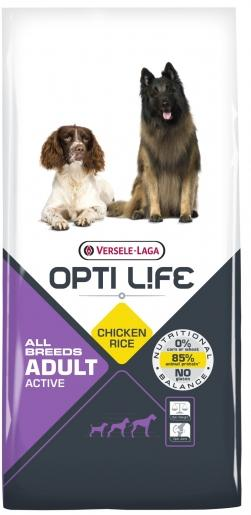 OPTI LIFE ADULT ALL BREEDS ACTIVE 12.5 KG