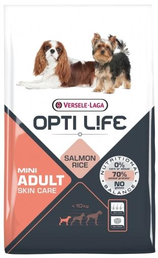 OPTI LIFE ADULT MINI SKIN CARE 7.5 KG