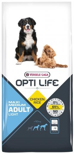 OPTI LIFE ADULT MAXI MEDIUM LIGHT 12.5 KG
