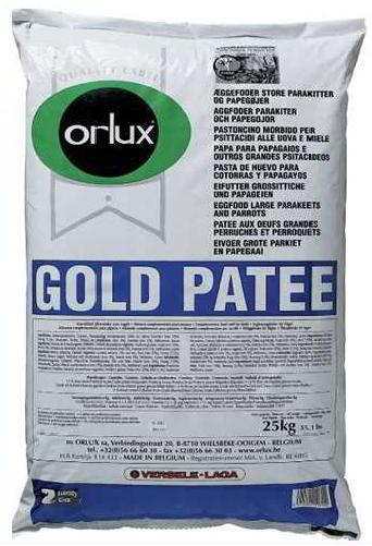 ORLUX PROFI GOLD PATEE GR. PERRUCHES & PERRUCHETS 25 KG