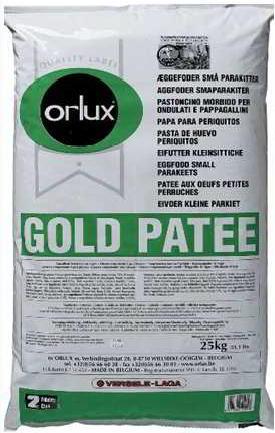 ORLUX PROFI GOLD PATEE PERIQUITOS 25 KG