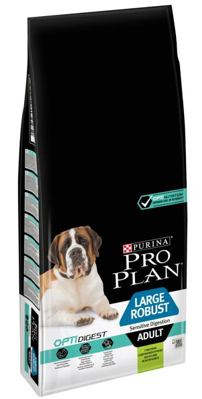PRO PLAN LARGE ROBUST OPTIDIGEST BORREGO 14 KG
