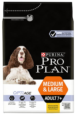 PRO PLAN MEDIUM & LARGE SENIOR 7+ FRANGO