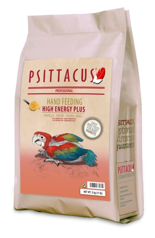 PSITTACUS HAND FEEDING HIGH ENERGY PLUS 5 KG