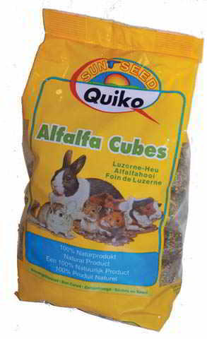 QUIKO ALFALFA CUBES 500 GR