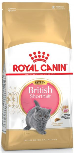 ROYAL CANIN KITTEN BRITISH SHORTAIR 2 KG