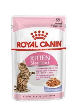 ROYAL CANIN CAT WET KITTEN STERILISED JELLY 85 GR