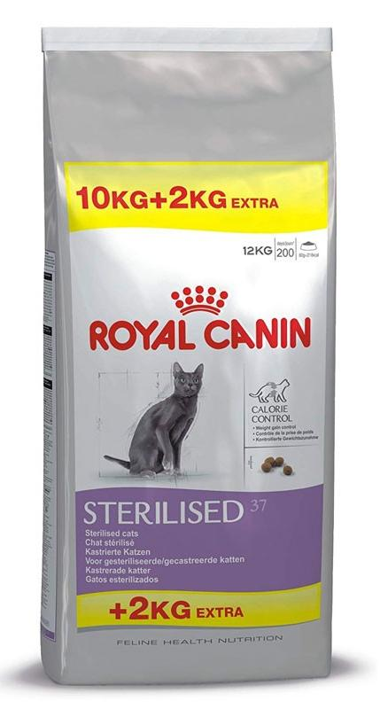 ROYAL CANIN CAT STERILISED 10+2 KG