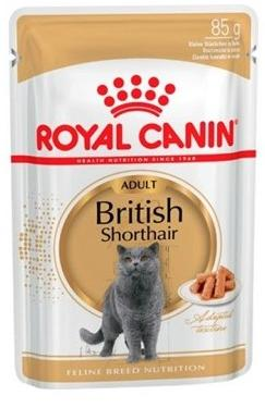 ROYAL CANIN CAT WET BRITISH SHORTAIR 85 GR