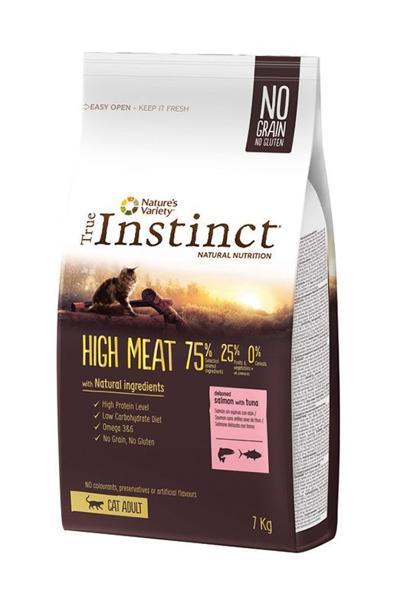 TRUE INSTINCT CAT HIGH MEAT SALMAO