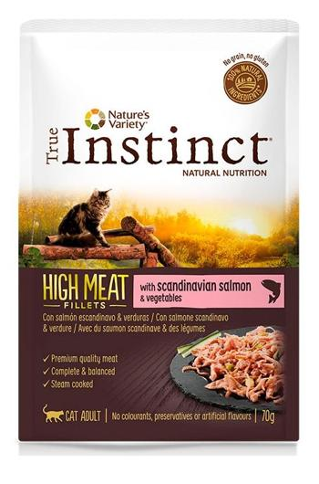 TRUE INSTINCT HIGH MEAT FILETES DE SALMAO 70 GR