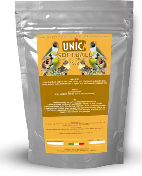 UNICA SOFTBALL BROWN 1.5 KG