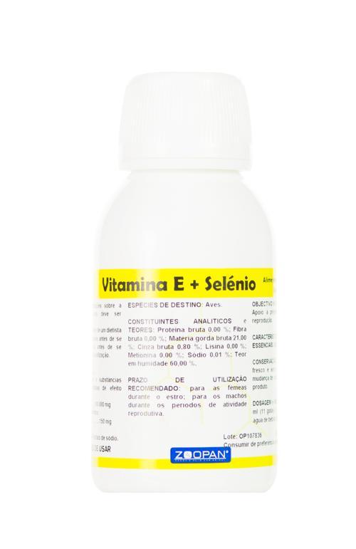 ZOOPAN VITAMINA E + SELENIO 100 ML