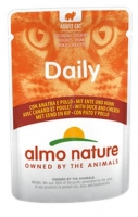 ALMO NATURE CAT DAILY FRANGO E PATO 70 GR