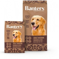 BANTERS MEDIUM CHICKEN 15 KG