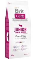 BRIT CARE JUNIOR LARGE LAMB & RICE 12 KG