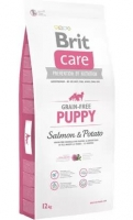 BRIT CARE GRAINFREE PUPPY SALMON & POTATO 12KG