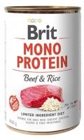BRIT MONO PROTEIN BEEF & RICE 400 GR