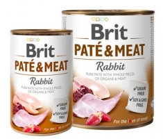 BRIT PATÉ & RABBIT 400 GR