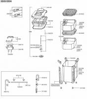 EHEIM 2222-2224 SPARE PARTS