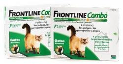 FRONTLINE COMBO GATOS E FURÕES 3 PIP.