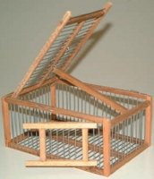 CAGE ATTRAPE SIMPLE EN BOIS