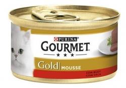 GOURMET GOLD MOUSSE VACA 85GR