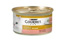 GOURMET GOLD MOUSSE SALMAO 85GR