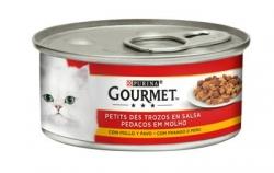GOURMET RED FRANGO E PERU 195 GR